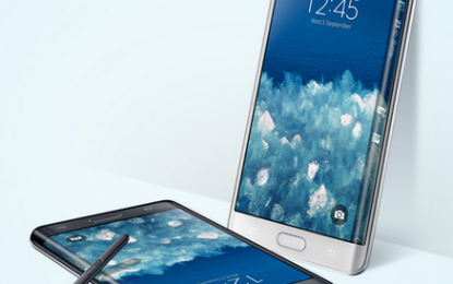 Samsung Galaxy Note Edge Görselleri